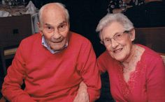 You old romantic: George, 103, to be Britain's oldest groom after (finally) popping the question