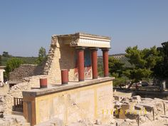 Creta. palacio de Cnosos