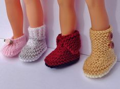 Knitting Pattern Dolls Shoes : 1000+ ideas about Doll Shoe Patterns on Pinterest Doll Shoes, Shoe Pattern ...