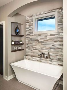 Adorable 75 Fresh and Cool Master Bathroom Remodel Ideas on A Budget https://decorapatio.com/2017/07/28/75-fresh-cool-master-bathroom-remodel-ideas-budget/ #bathroomremodelingonabudgetmaster