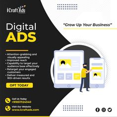 At icraftads, we provide display advertising services that make your brand stand out and will also get you more sale leads in your pipeline. 🤩✨ . . Contact us to know more and to increase your conversion rate. 💥💥 . . . #displayads #displayadvertising #marketingcampaigns Display Advertising, Advertising Services, Display Ads, Growing Up, Digital Marketing, Photo And Video, Business, Instagram, Store