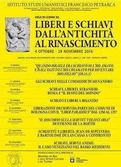 """Italia Medievale: """"Liberi e schiavi dall'Antichità al Rinascimento"""" ..."""