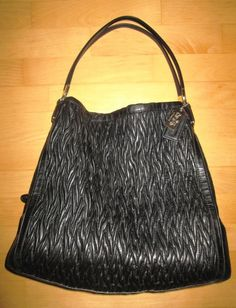 * * * COACH Ledertasche schwarz * * *   eBay Clutch, Shoulder Bag, Bags, Fashion, Coach Leather Bag, Clothing Accessories, Hand Bags, Black Clothes, Handbags