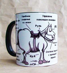 """Чашка """"Первый внедорожник"""" 350 мл керамика, сублимационная печать 12$"""