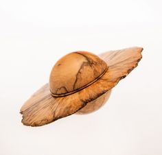 Saturn Box (Boxwood Burl) 2011 by Hans Weissflog. Wood Shop Projects, Lathe Projects, Wood Turning Projects, Wooden Projects, Wood Vase, Wood Bowls, Woodworking Inspiration, Wood Sculpture, Wood Carving