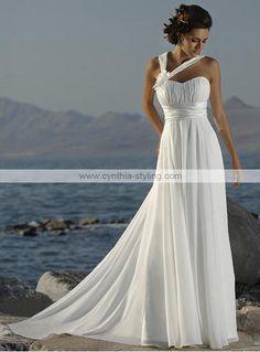 white beach wedding attire   ... Wedding Dresses 2011 > White wedding dress beach wedding dress 2010