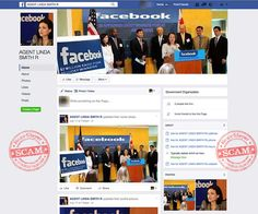 Fake 'Agent Linda Smith' Facebook Page Used For Lottery Scams