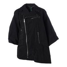 Lauren Ralph Lauren 3067 Womens Black Cape Sleeves Outerwear Coat Jacket 1X BHFO