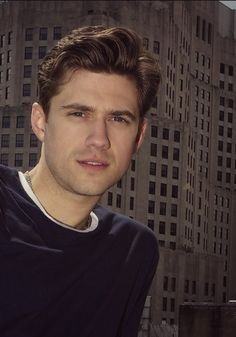So much gorgeousness. (Aaron Tveit)