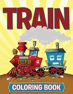 Train Coloring Book Coloring Books for Kids Art Book Series *** Click image to review more details-affiliate link. #DisneyColoring Fun