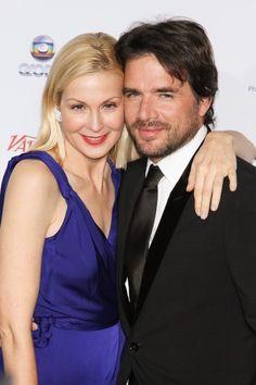 Kelly Rutherford et Matthew Settle lors de la soirée 40th International Emmy Awards à New York, le 19 novembre 2012.