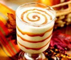 Caramel Apple Delight Drink