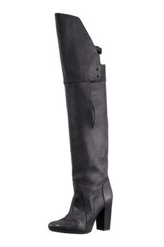 3.1 Phillip Lim Over-The-Knee Buckle Boots