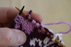 Best tutorial for knitting intarsia in the round that I've come across so far.