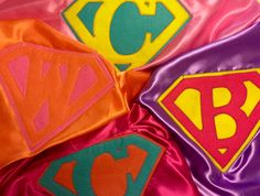 Capes for Figarden's Super Hero Sprint- 2nd Grade's Fantastic 4 rocked it!