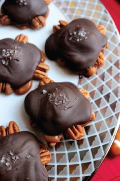 Homemade Turtles — These little caramel and pecan treats are topped with rich, creamy chocolate for the perfect indulgent bite-sized treat. Every sweet and crunchy goodie is sure to go like hot cakes so be sure to get some while you can.