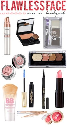 Flawless Face On A Budget - #budget #flawlessface #beautytips #makeupproducts #budgetbeauty #hairsprayandhighheels -  Love beauty? Go to bellashoot.com for beauty inspiration!