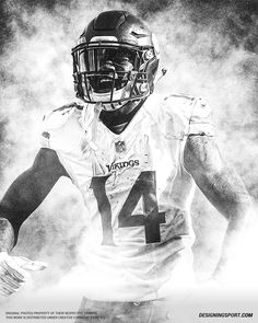 Designing Sport — 'True Patriots, Vol. Nfl Football Helmets, Best Football Team, Stefon Diggs, Minnesota Vikings Football, La Rams, Sports Art, American Football, Patriots, Beast Mode