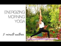 This routine will get you awake and energised ready for the day!