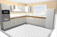 jak urządzić kuchnię rustykalną  z zestawu Stat Ikei