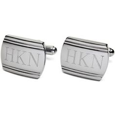 Gunmetal Cuff Links- father of the bride/groom gift