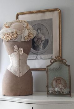 Beautiful Dress Form Display