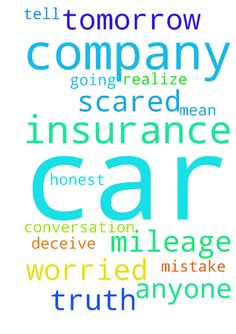 Jesus please help me with my car insurance company. - Jesus please help me with my car insurance company. I need to have a conversation with them tomorrow and I am worried. I am going to tell the truth about my mileage but I am scared. I did not mean to deceive anyone, please let them realize it was an honest mistake. Thank you Jesus, Amen. Posted at: https://prayerrequest.com/t/GRI #pray #prayer #request #prayerrequest