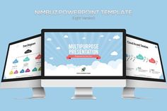 Nimbuz Powerpoint Template by inspirasign on @creativemarket
