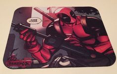 DEADPOOL F*** PLANS Funny Large  Anti Slip PC Gamer Pictorial Mouse Pad #PHATGraphix