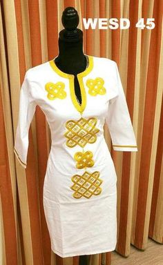 African Women Embroidery Dresses