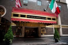 The Michelangelo Hotel. Would love to stay here and needless to say, I LOVE New York!