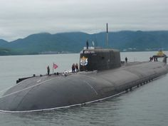 A Russian Navy 949 Oscar nuclear guided missile submarine (SSGN)