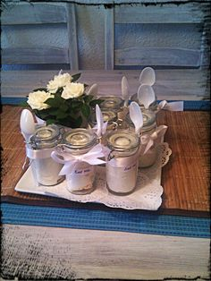 Diner en Blanc - some sort of dessert in a mason jar would be charming... #DinnerenBlancCHI