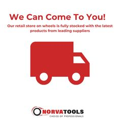 Not keen on visiting a store to purchase your new tools? You can still shop for your next project or home renovation without going online! Norva Tools is specifically designed as retail on wheels, and our mobile service vans are fully stocked with the latest tools from the biggest brands. Let one of our skilled service people come to you and be assured that all staff at @norvatools adhere to the strictest in corona virus safety and best practices while expertly advising you on which tools… Go Online, Professional Tools, Save Yourself, Brand Names, Wheels, Stress, Handle, Letters, In This Moment
