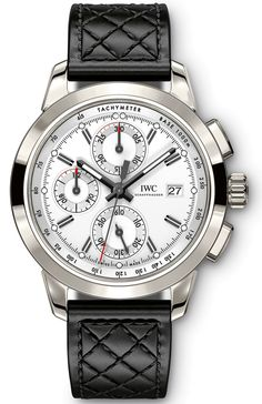"Master Horologer: IWC Schaffhausen: Ingenieur Chronograph Edition ""74th Members' Meeting at Goodwood"" (Ref. IW380703), Ingenieur Chronograph Edition ""Rudolf Caracciola""(Ref. IW380702) & Ingenieur Chronograph Edition ""W 125""(Ref. IW380701)"