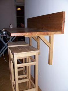 Wall Mounted Breakfast Counter   IKEA Hackers: megan's breakfast bar