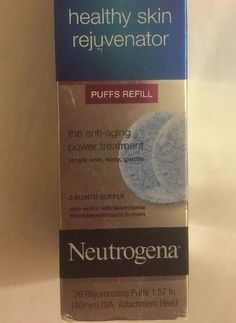 about Neutrogena Healthy Skin Rejuvenator Puffs Refill 36 Puffs 3 Mo Supply Anti Aging Neutrogena Healthy Skin Rejuvenator Puffs Refill 36 Puffs 3 Mo Supply Anti Aging 70501254240 Anti Aging Treatments, Acne Treatment, Acne Makeup, Face Mapping, Hormonal Acne, Summer Skin, Skin Firming, Neutrogena, Travel Size Products