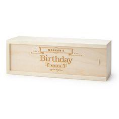 Birthday Wine Box