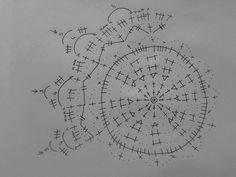 Crochet Stitches Chart, Crochet Doily Patterns, Crochet Motif, Crochet Doilies, Christmas Bells, Christmas Cross, Christmas Baubles, Christmas Decorations, Crochet Tree