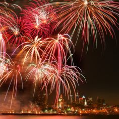 """Penn's Landing Introduces Brand New """"Friday Night Lights"""" Fireworks Series For Summer 2012, Bringing A Free Weekly Fireworks Display To The Delaware River Waterfront In July And August"""