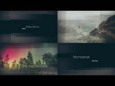 Free AFTER EFFECTS TEMPLATES Beautiful Slideshow Glass Opener - Awesome slideshow after effects scheme