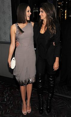 Marion Cotillard in Dior S07 and Penelope Cruz - November 2009