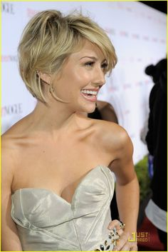i agree, her hair is amazingly cute but i no longer want to ever ever ever cut my hair short ever again.
