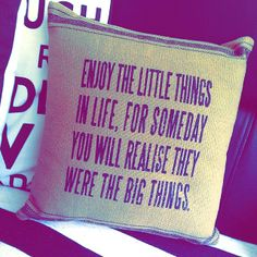 @stefypuglisevich: Just bought this little bad boy from Asda last night for £5! A right bargain and an Amazing quote  the little things are us...