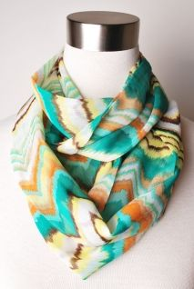 That 70's Show Scarf | Peacock Plume