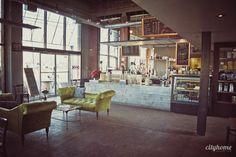 Botanica- coffee/juice bar and flower shop