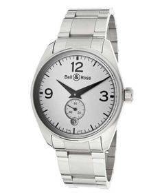 luxe-menswear:  Men'S Automatic Silver Dial Stainless Steel BELLROSS-GENEV-123-WH-SD-SD WatchSearch for more Watches by BELL & ROSS on Wantering.