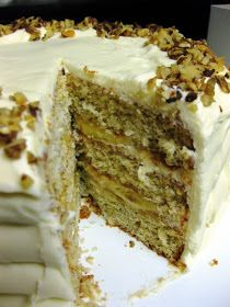 Dragon's Kitchen: Fresh Banana Layer Cake