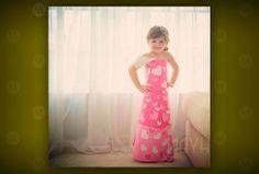 Fashion by Mayhem - paper dress by a 4-year-old