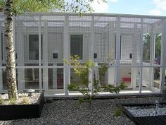 Image detail for -pvcu cattery with penthouse sleeping accommodation